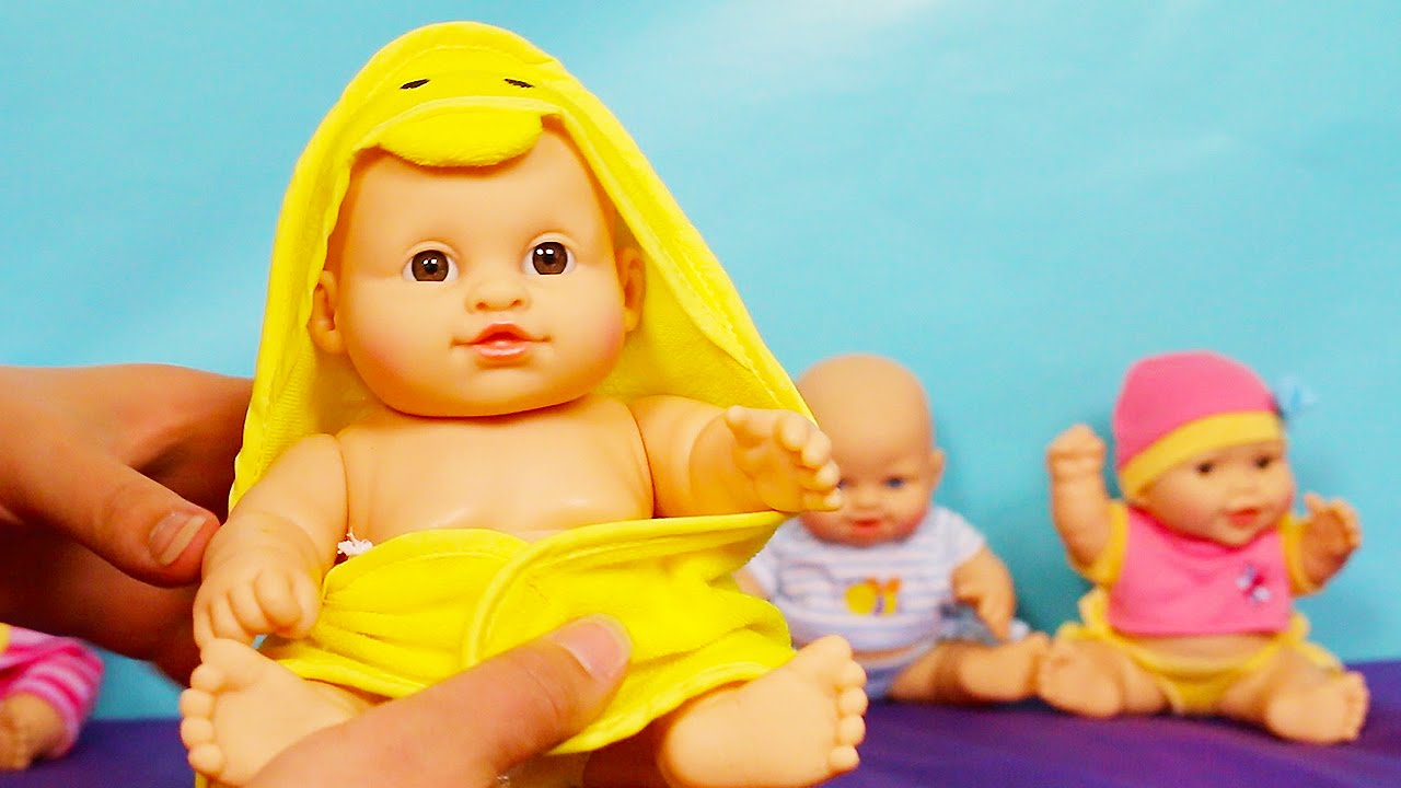 5 Babies You Me Baby Doll Set So Many Babies Youtube