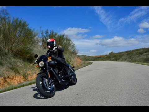 画像: Essai Harley Davidson Street 750 youtu.be