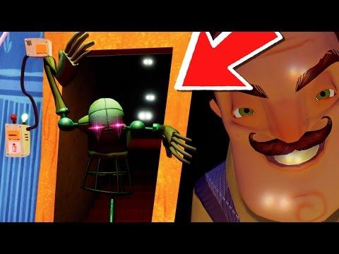 Hello Neighbor Alpha 4 🌟REAL ENDING & SECRET MANNEQUIN SCENE!🌟 (Hello Neighbor Update Gameplay)