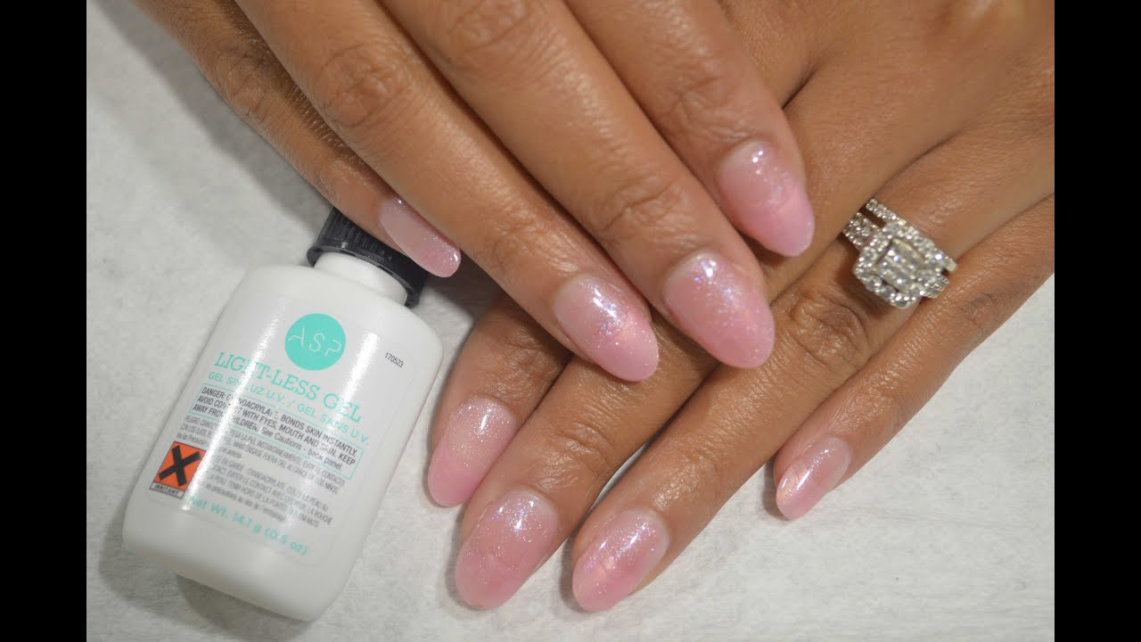 Tutorial Asp Lightless Gel Nails Lication
