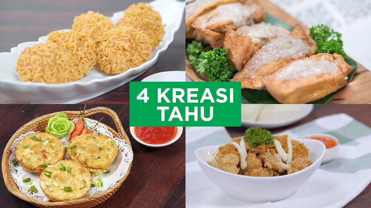 4 Kreasi Tahu 4 Ways