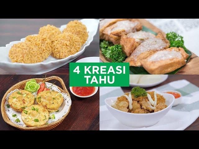 4 Kreasi Tahu | 4 WAYS