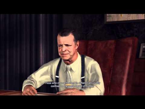 L.A. Noire - Arson Case #2: A Walk In Elysian Fields
