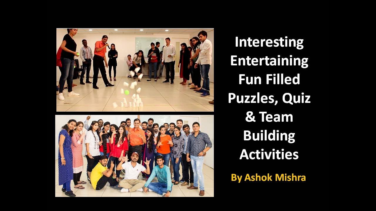Most Interesting Games| Funny | Team Building | Employee ...