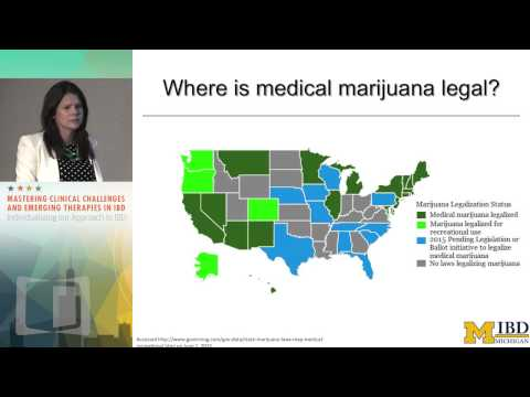CASE DISCUSSION: Marijuana in IBD: Who should get it? How should we help?