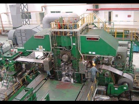 Cold Rolling Mill Steel Strip Copper Aluminum Reversing