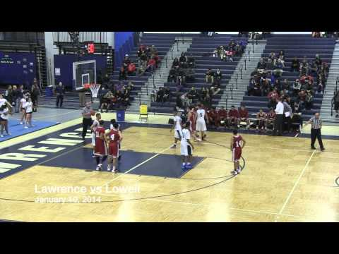 LHS Boys Basketball vs Lowell 1/10/14