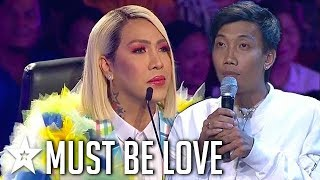 GUY In Love With Judge Does Multiple Performances in One! | Pilipinas Got Talent | Got Talent Global