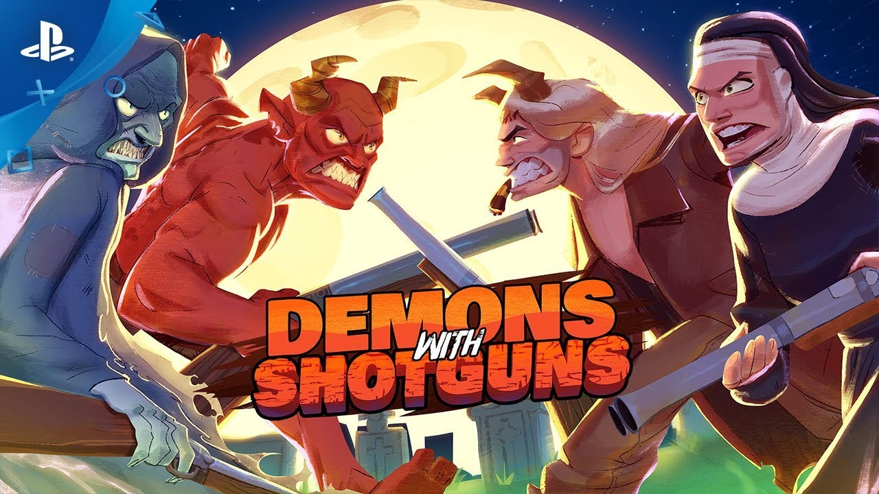 Demons with Shotguns - Announce Trailer | PS4