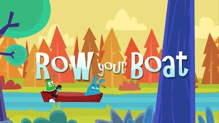 Row, Row, Row Your Boat! | Music for Kids, Kids Songs, Nursery Rhymes, Children Songs