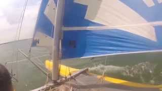 Dart 16 Sail and Capsize in Tollesbury