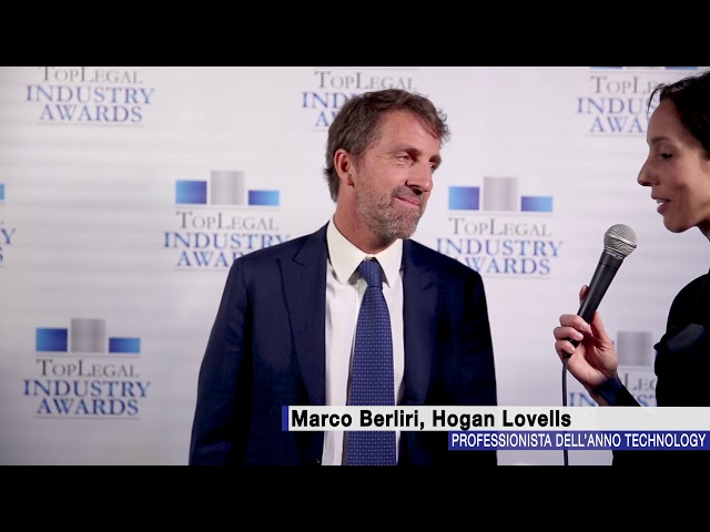 Marco Berliri, Hogan Lovells - TopLegal Industry Awards 2018