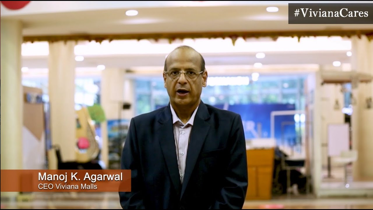 Viviana mall | Safety Assurance by our CEO - Mr Manoj K. Agarwal