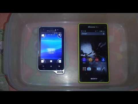 Sony ericsson xperia active vs sony xperia z1 compact docomo