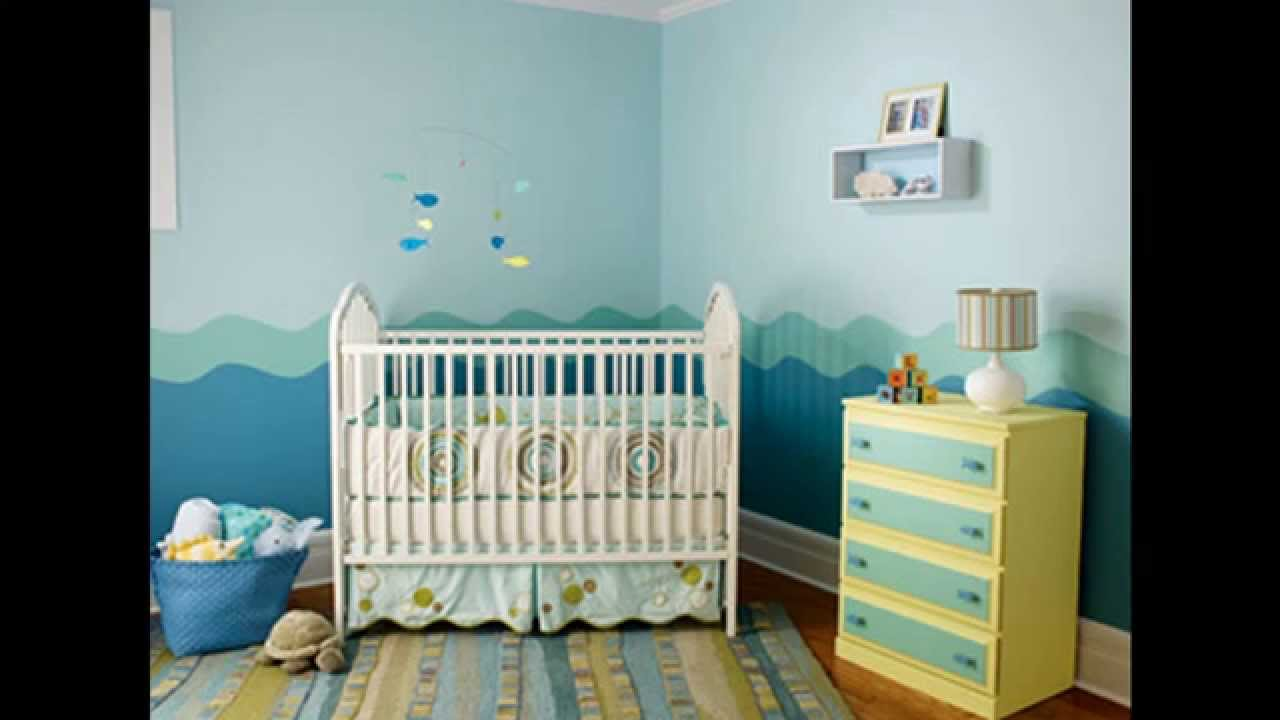 Baby Boy Room Colors Easy Baby boy room decorating ideas - YouTube
