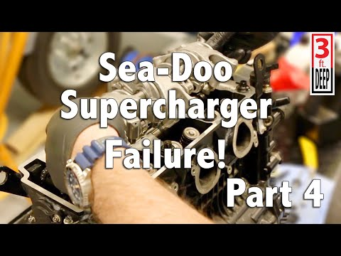 Sea-Doo Supercharger Failure Aftermath Part 4 of 4: Cylinder Head Reassembly
