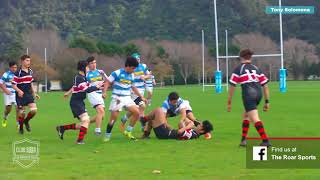 Tony Solomona jnr 2018 College Rugby Highlights