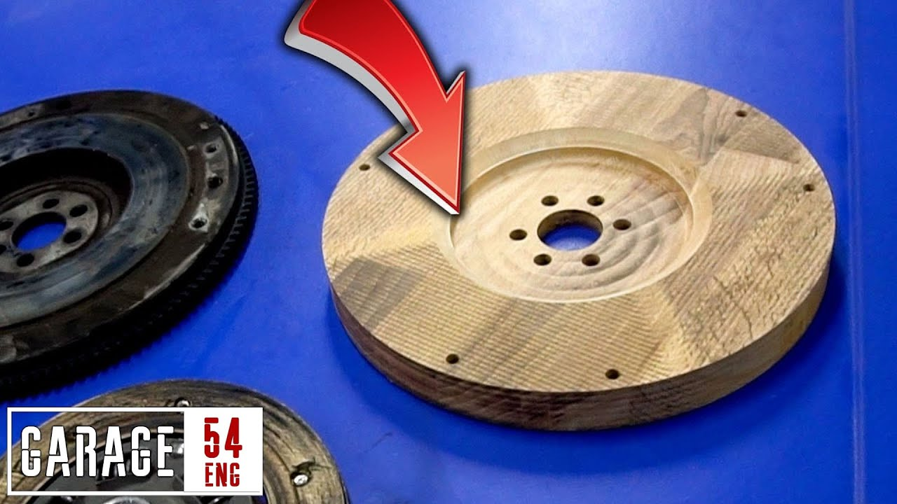 Wooden flywheel – will it work?