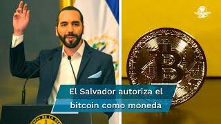 El Salvador autoriza el bitcoin como moneda de curso legal, el primer país del mundo en hacerlo