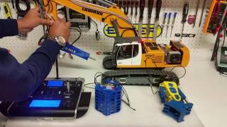 CSMI : Liebherr RC Excavator 960 Hydraulic hammer test and demo