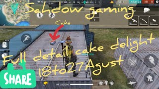 Events collect cake and get osmm gifts full details// Free Fire // Dr_Shadow