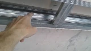Натяжной гипсокартонный многоуровневый потолок своими руками