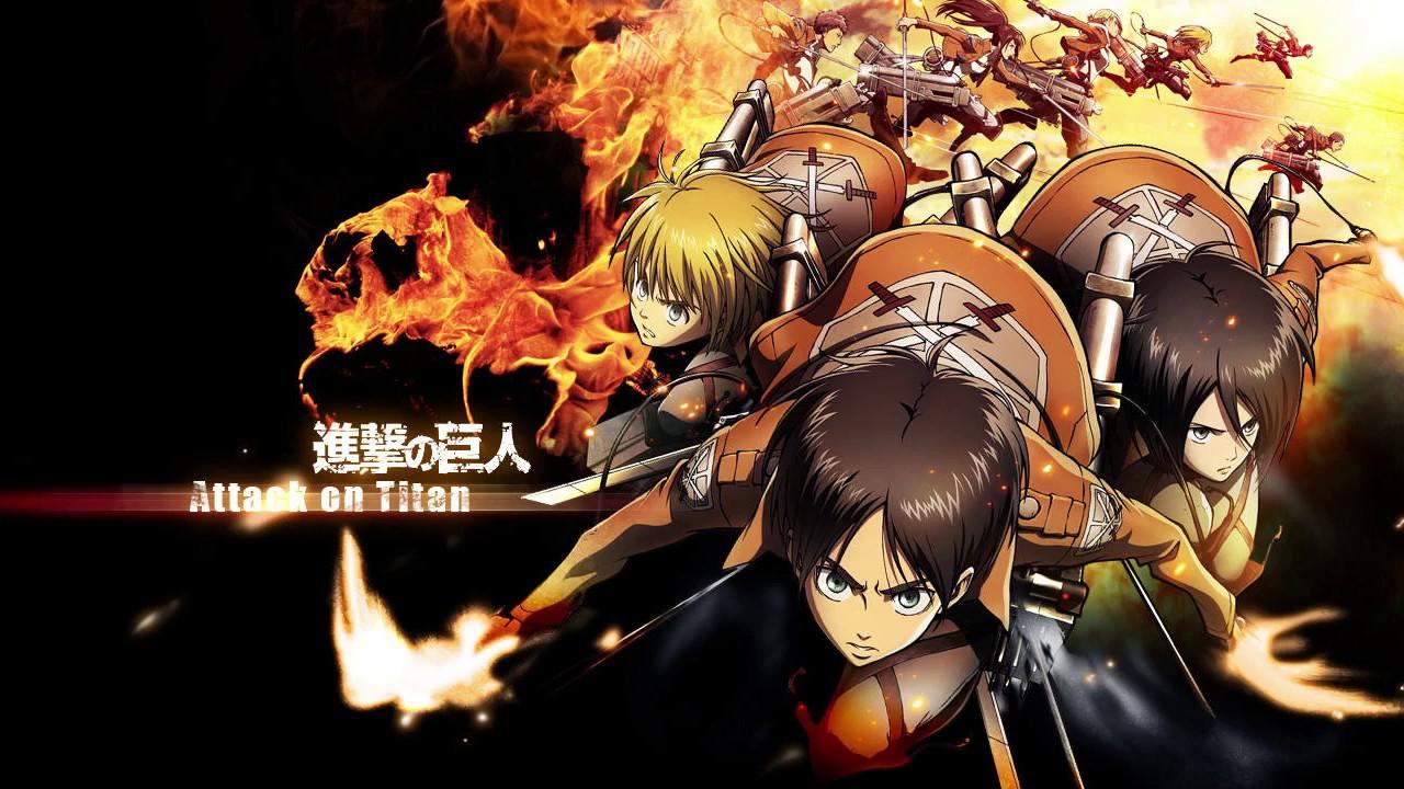 Attack on Titan   Opening 1-2-3   [Shingeki no Kyojin ...