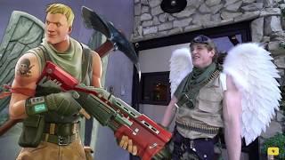 Logan Paul: Fortnite in Real Life Clip
