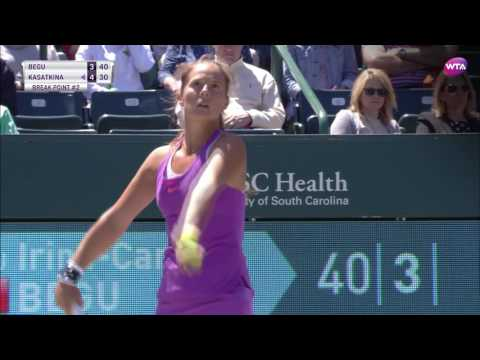 2017 Volvo Car Open Quarterfinal | Daria Kasatkina vs Irina-Camelia Begu | WTA Highlights