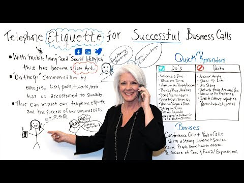Telephone Etiquette For Successful Business Calls - Project Management Training