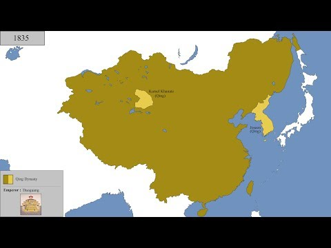 The History of China : Every Year