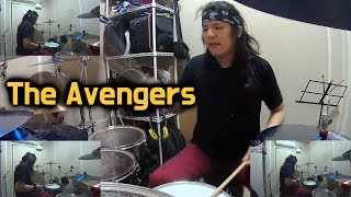 The Avengers Theme - Drum Cover (By Boogie Drum)
