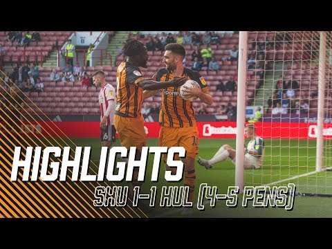 Sheffield United 1-1 Hull City (4-5 Pens) | Carabao Cup 1st Round | Highlights
