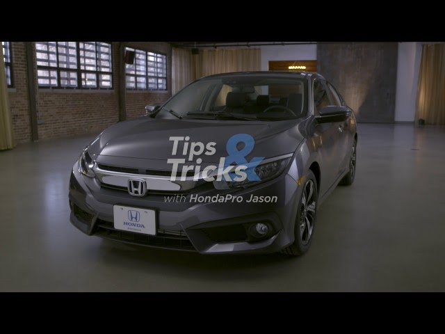 2016 Honda Civic Tips & Tricks: Center Console Functionality