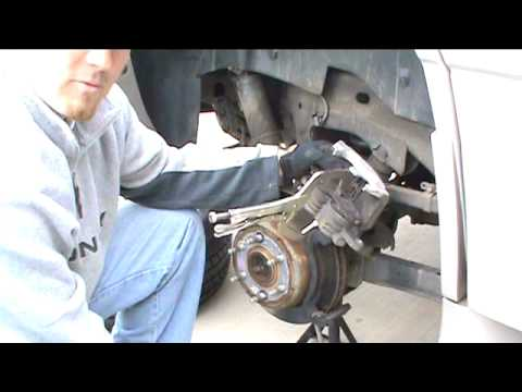 How To Install Replace Front Brakes Chevy Silverado