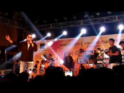 Amit mishra's stage performance in our barasat govt. College