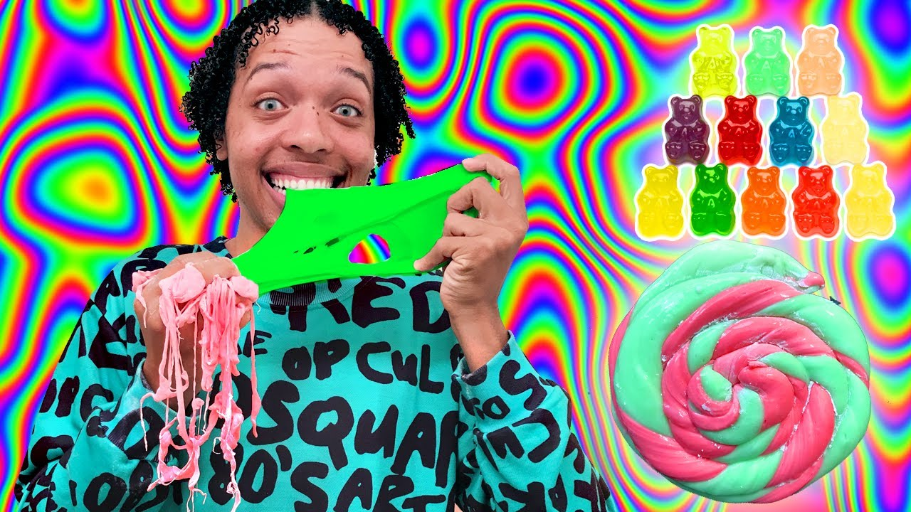 *slime You Can Eat* How To Make The Best Gummy Bear Slime! So Tasty!