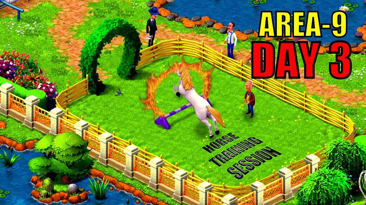 Awesome Gardenscapes New Area 9 Day 3 Restored/GARDENSCAPES NEW ACRES Gameplay,itu0027s  Free For All Devices.