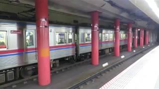 京成3600形3648編成 快速佐倉行き 都営浅草線浅草駅発車