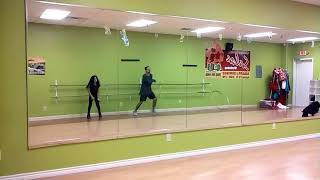We know how to party chris brown PFC Roy Valdez  Choreo