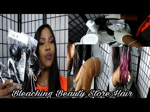 Bleaching Beauty Store Body Wave Unprocessed Virgin Hair