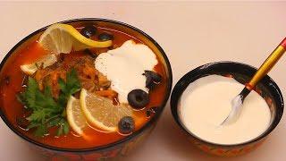 видеорецепт: как приготовить солянку грибную? (6)