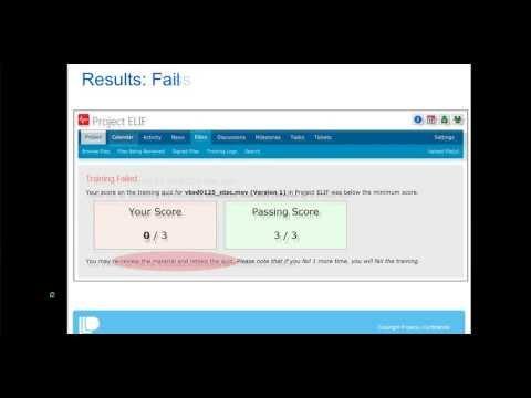 E-Training Feature in Projecis Webinar
