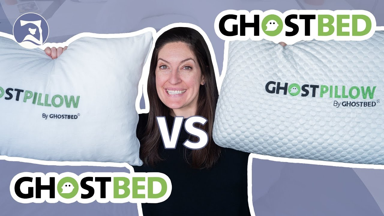 ghostpillow reviews gel memory foam and faux down which is it gonna be