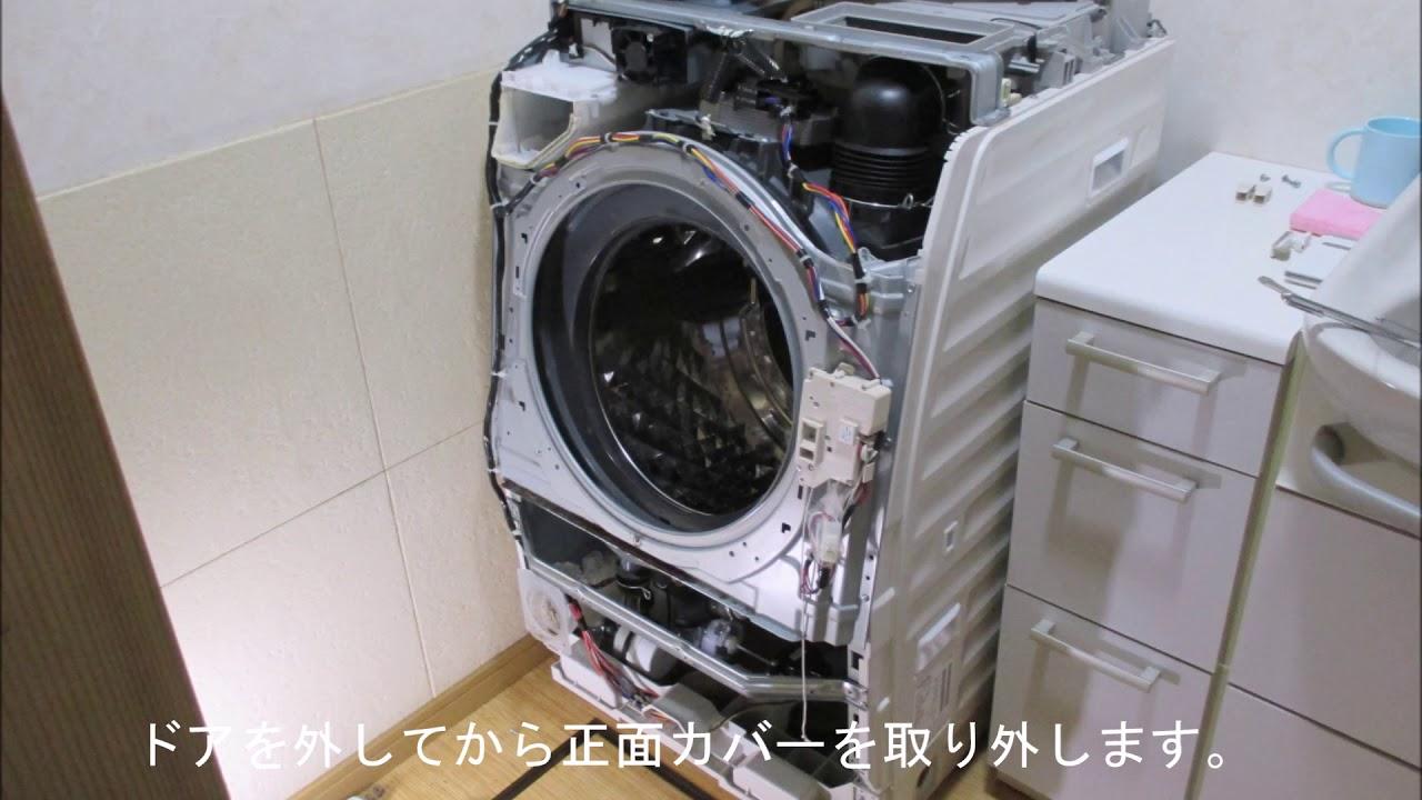 洗濯乾燥機 NA-VX7200L はずれたドアパッキンの修理 - YouTube