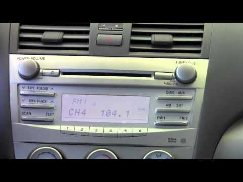 2011 | Toyota | Camry | Radio Controls | How To by Toyota City Minneapolis MN