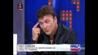 Tony Carreira - Entrevista Jornal das 8 TVI (resumo)