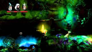 trine 2 coop 3 players gameplay video