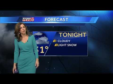 Video: Nor'easter may bring up to 12 inches of snow
