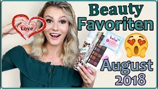 Die BESTEN PRODUKTE vom August 2018 😍 I August Favoriten I Cindy Jane